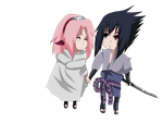 sasuke and sakura1 by pokemon1996