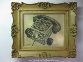 TELEPHONE OF TERROR by telegrafixs