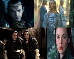 Elrond and His Family by Lilith-Babydoll