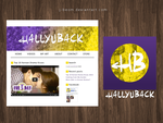 Hallyuback Concept Layout by strdusts