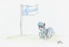 NATG2013 Day 29 - Across the Finnish Line by KuroiTsubasaTenshi