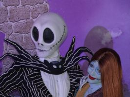 Jack and Sally by LostWendy