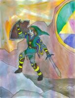 "FAIC Entry: Link, ""Goddess Crown"" by Gojira007"