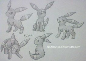 Umbreon 4 by BluuKiss