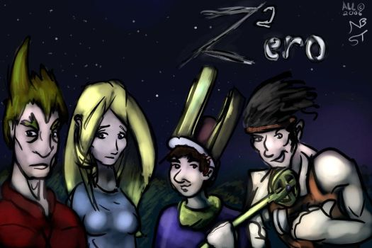 OC 90 - The Cast of Z-ero by SoreThumb