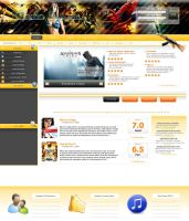 Game Reviews Design ver. 2 by D-Cypha