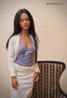 Face up and wig for Iplehouse Zera by mary-vassilieva