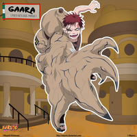 Gaara - possessed mode by miaovic