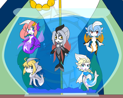 The Mermaid Bowl by Dragon-FangX