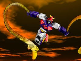 Voltes V and the Ultra-Electro Magnetic Whips by bdy