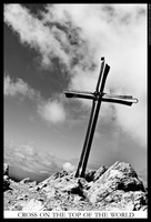 Cross on the top of the World by MahoneyCZ