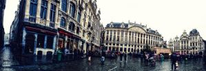 Brussels Panorama by Lad2-0