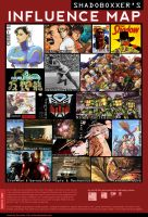 Shadoboxxer: Influence Map by SHADOBOXXER