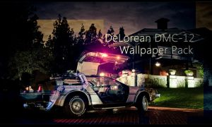 DeLorean DMC-12 Wallpaper Pack by DesignsByTopher