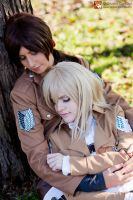 [Ymir x Christa] Rest by Didi-hime