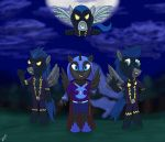 the Nightmare Moon filly's group by gino456