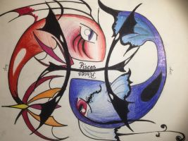 Pisces Zodiac sign by SageCamille