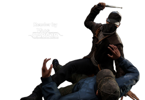 Watch Dogs - Aiden Pearce Body All 3 Render by VaasCARV3R