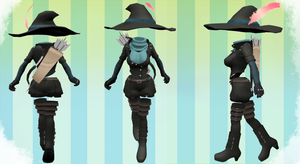 MMD Outfit 12 by MMD3DCGParts