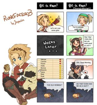 Rune Factory 3 - Be a man by Jayolin