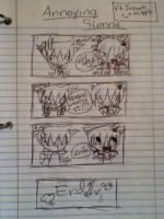 The Annoying Sienna XD *Ft. Jazzeh as Apple! :D* by WinterTheGlaceon45