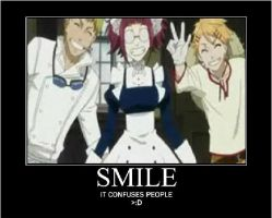 SMILE it confuses ppl by AnimeKicksAss7345