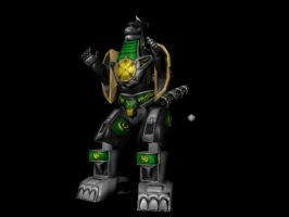 PRMM Dragonzord Papercraft by PapercraftKing
