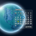 Glassy Calendar II by adni18