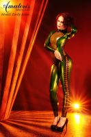 Emily Adore Green Cat by AmatorisLatexCouture