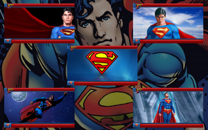 Superman PSP Theme Wallpapers by a666a