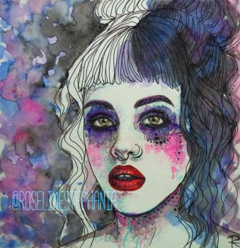 CRY BABY by RoselinEstephania