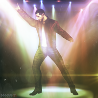 Shepard The DanceKing ft. Lens Flares (ME3) by toxioneer