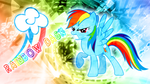 Rainbow Dash is Angry :3 (Wallpaper) by CKittyKat98