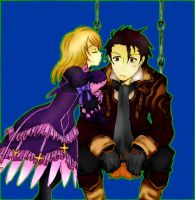 Alvin and Elize from Tales of Xillia by MArchaga