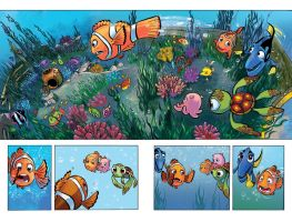 Finding Nemo Comic by lazesummerstone