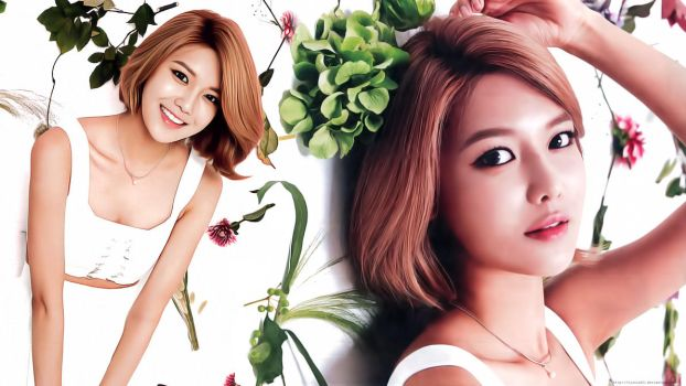 2016 Season's Greetings Wallpaper (Sooyoung) by Rizzie23