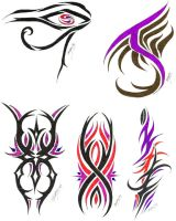 Misc. tribal tat flash 4 by redLillith