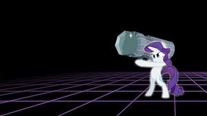 Here Comes Tom - Rarity Wallpaper by smokeybacon