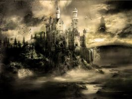 Mystical Castle by 666Kain-666