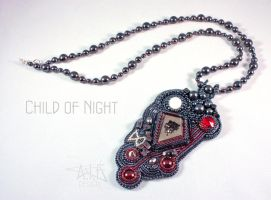 Necklace: Child of Night by annafjellborg