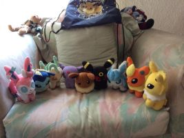 Eevee evolution...just complete! by Amberzxxx