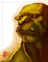 orc speedpainting by Alex0wens