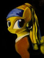 Pony With a Pearl Earing by Invalid-David