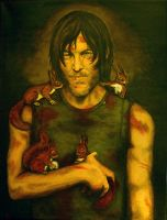 All Squirrels love Daryl by Vulkanette