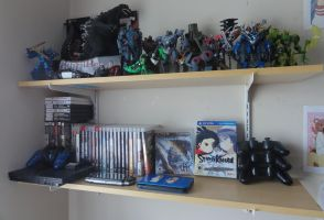Shelves (Non-Anime figure/Game collection) by Brian12