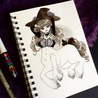 Centaur witch by zambicandy