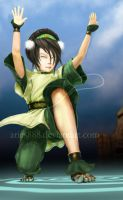 Toph - Ripples by Aries888