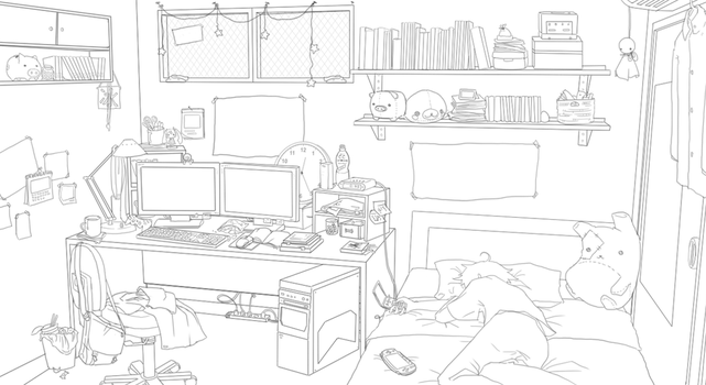 Room practice - Technology by Jayolin