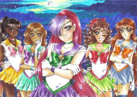 Gift: Team Lone Senshi by Toto-the-cat