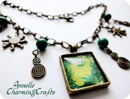 """Necklace """"Goddess of the Nature"""" by Anne-Claire-Annelle"""